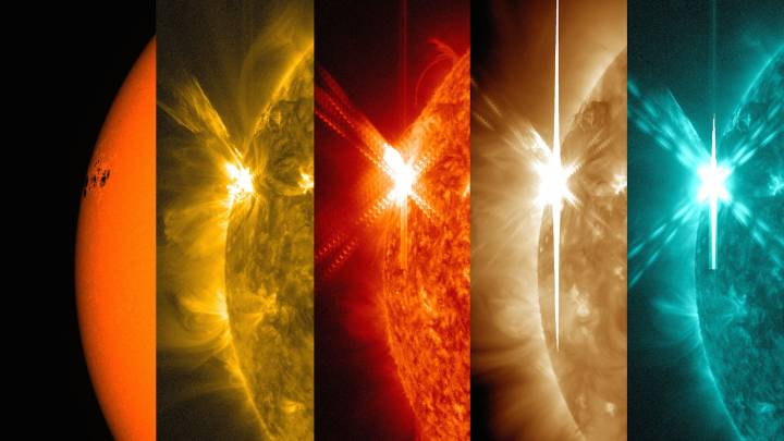 NASA Cinco de Mayo Solar Flare