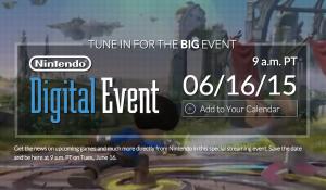 Nintendo E3 2015 Plans