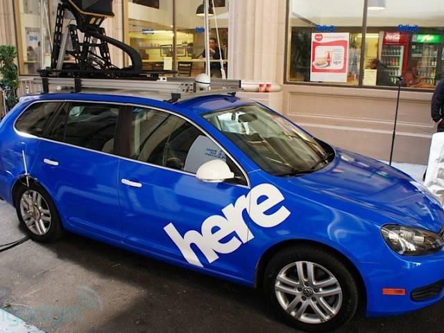 Uber: Nokia Here Maps Service