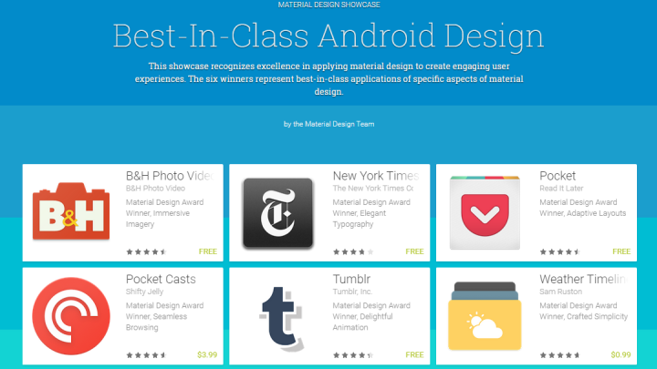 Best Android Material Design Apps