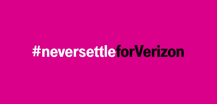 T-Mobile Never Settle for Verizon