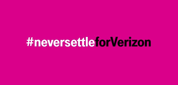 T-Mobile Never Settle for Verizon