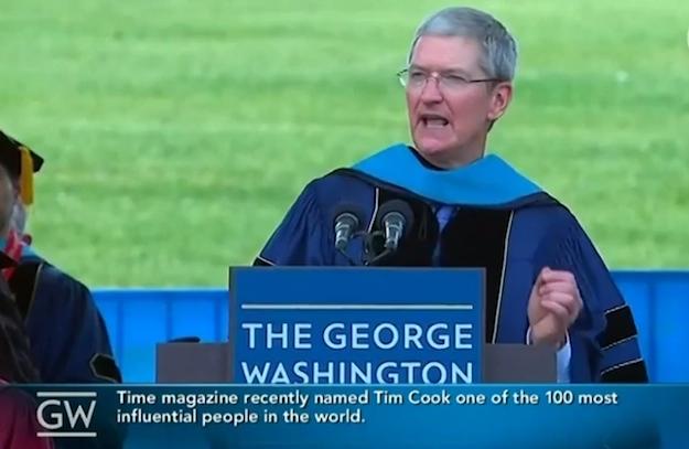 Tim Cook Graduation Speech