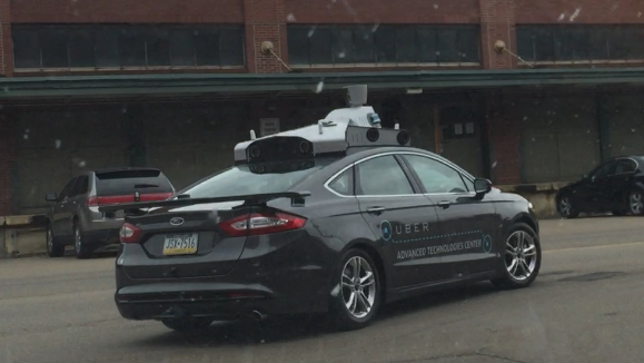 تعرف على النموذج المبدئي لسيارة أوبر ذاتية القيادة 1