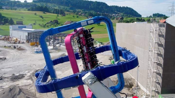 Insane Amusement Park Ride