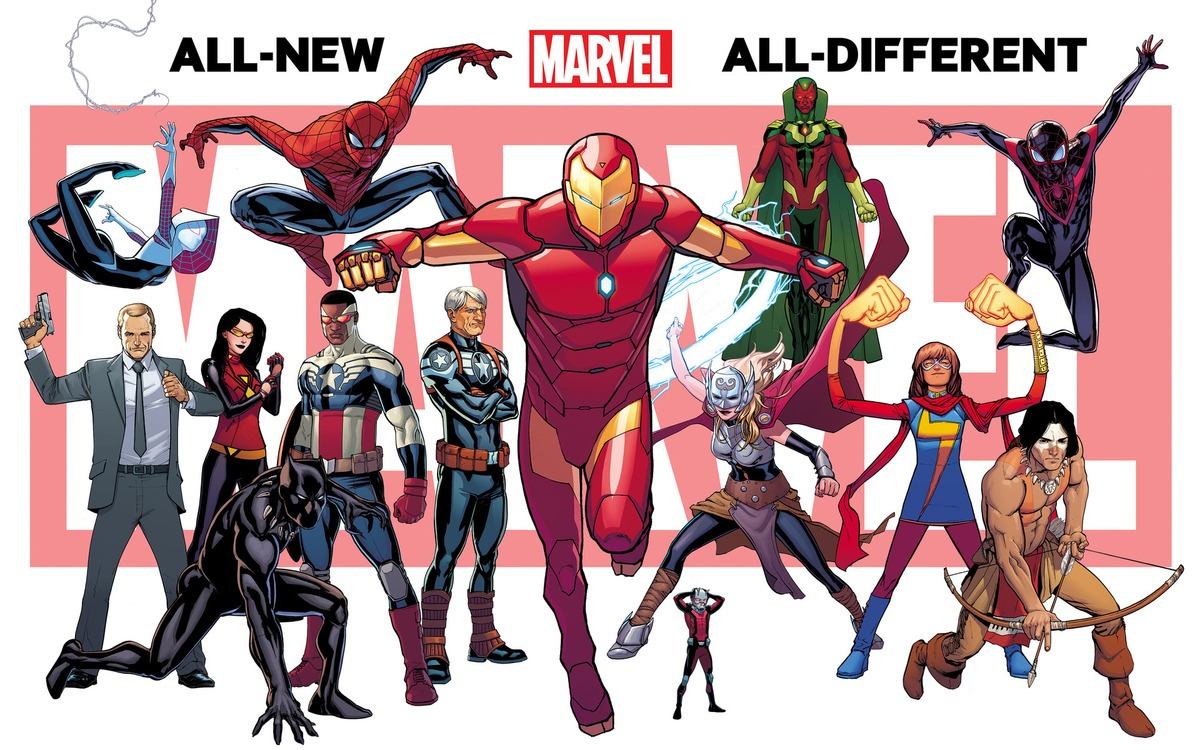 Marvel Comics Reboot