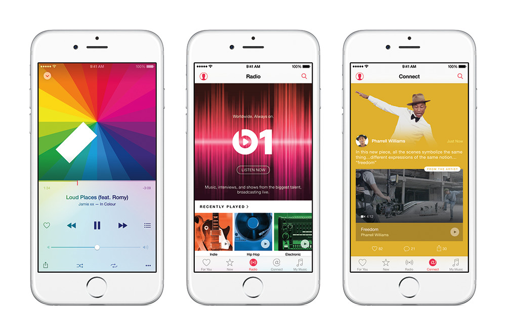 Apple Music Beats Launch