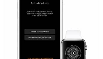 Apple Watch WatchOS 2 Activation Lock Security