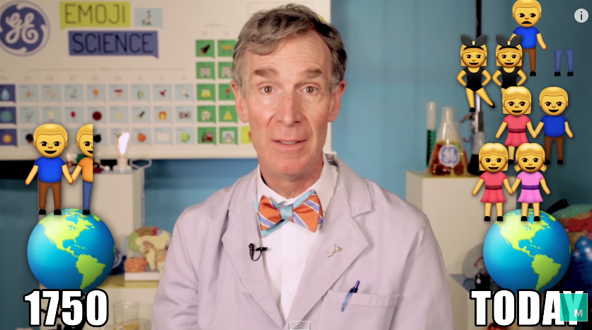 Bill Nye Emoji Climate Change Video