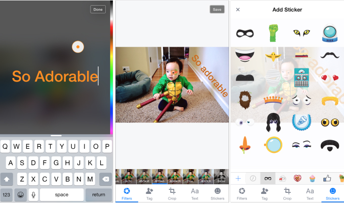 iPhone Facebook Snapchat Photo Tools