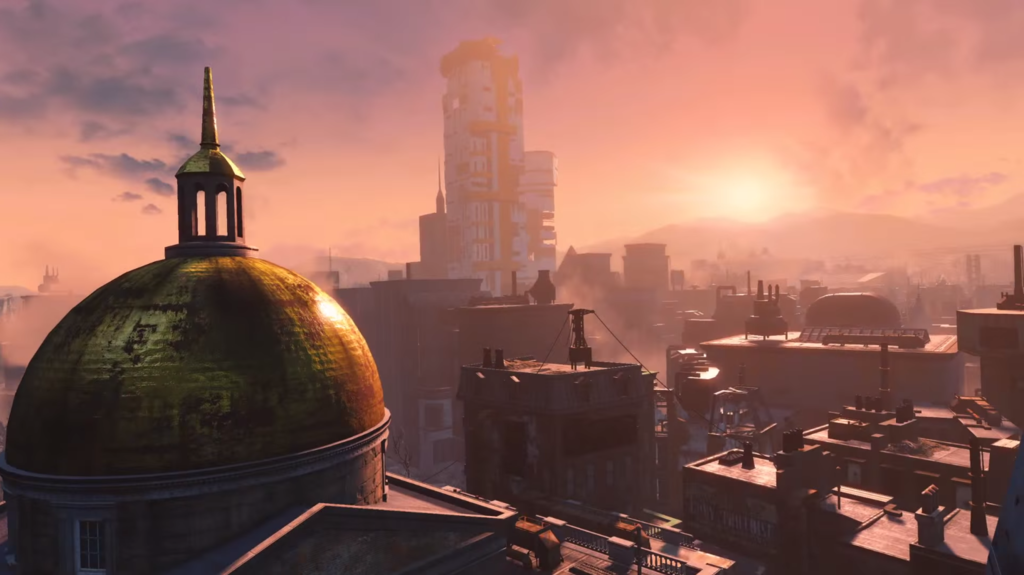 Fallout 4 Trailer Boston Screencaps