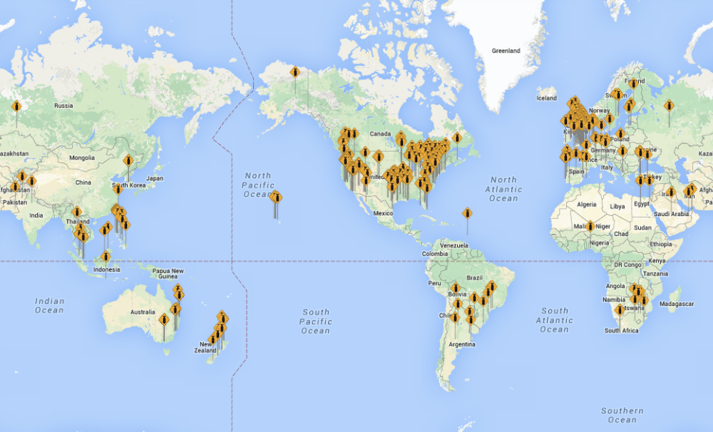 Fbomb.co F-Word Twitter Map Website