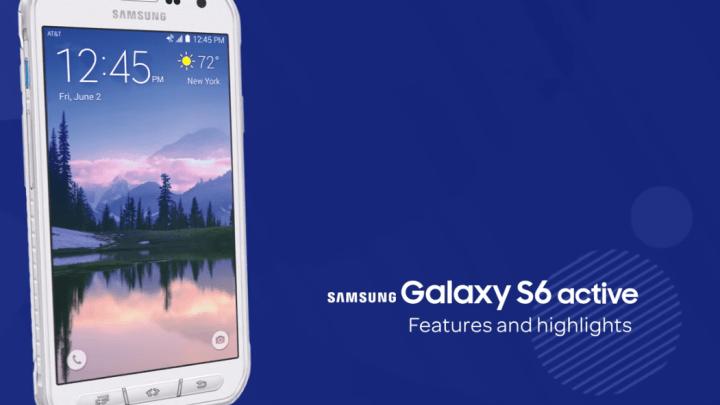 Samsung Galaxy S6 Vs. Galaxy S6 Active