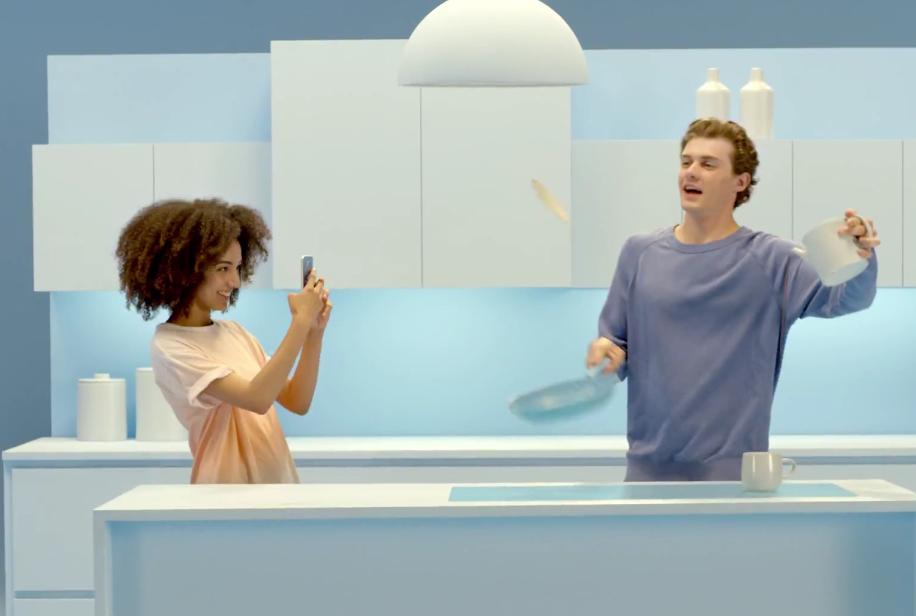 Samsung Galaxy S6 GIF Powered Ad