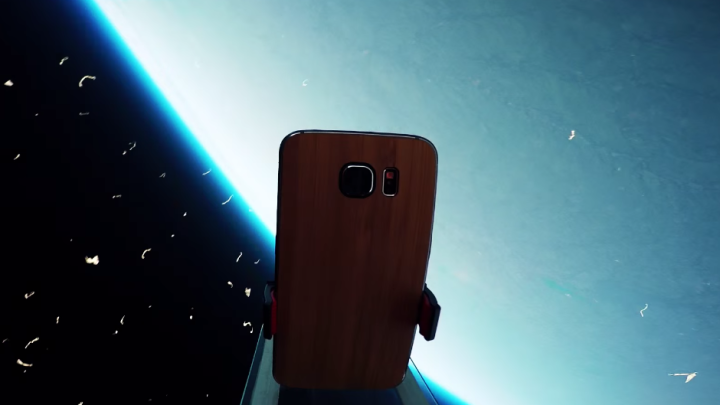 Galaxy S6 Space Launch Video