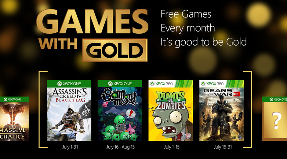 Xbox Games with Gold July 2015