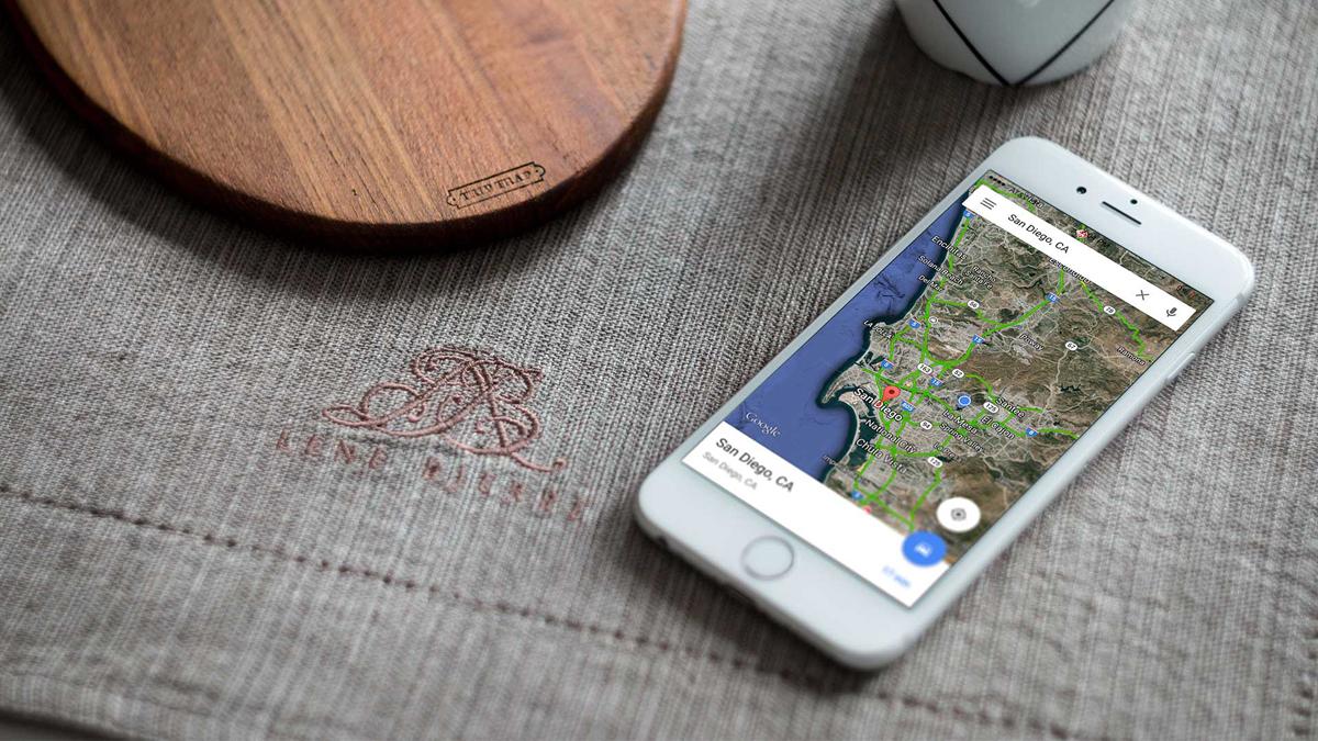 Google Maps iPhone App