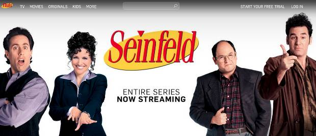 Seinfeld Series Episodes Online Streaming Hulu