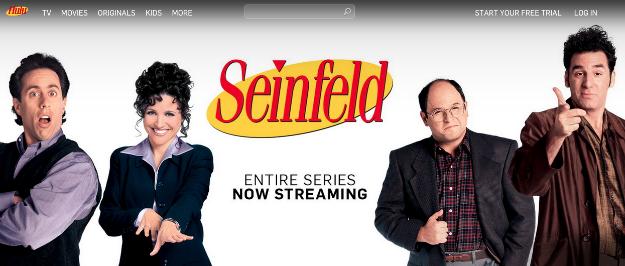 Seinfeld Series Episodes Online Streaming Hulu