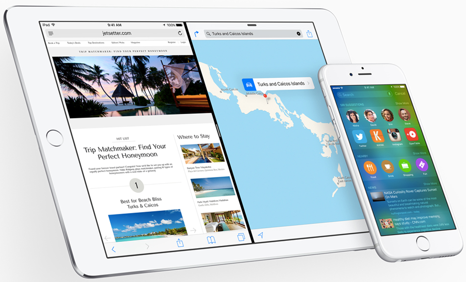 iOS 9 iOS 8 Features Comparison Pictures