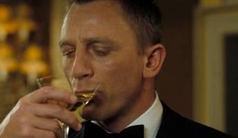 James Bond Drinking