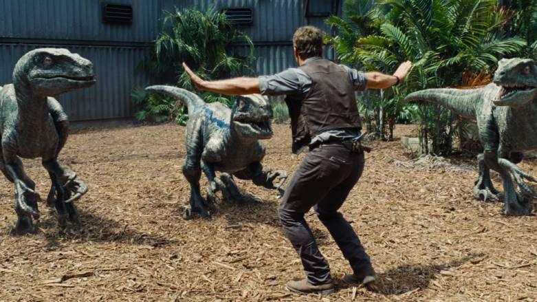JurassicZoo Zookeepers Jurassic World Chris Pratt