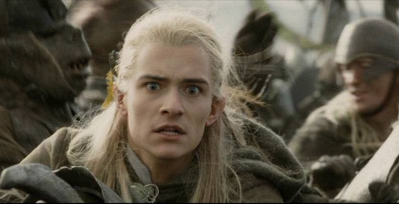 Orlando Bloom Lord of the Rings Facial Expressions