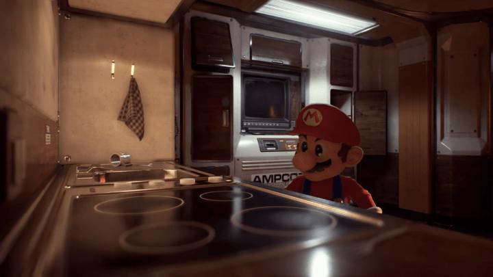 Mario Unreal Engine 4