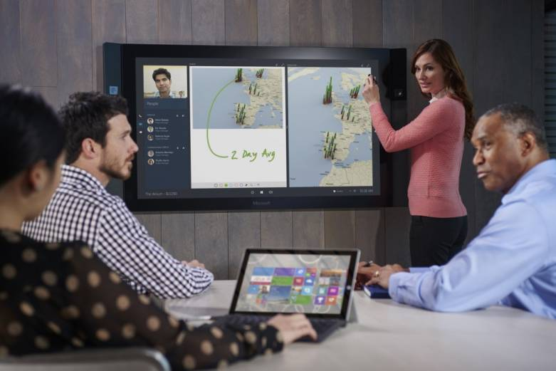 Microsoft Surface Hub Pricing Availability