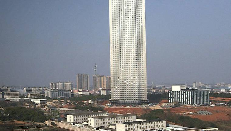 Skyscraper Built 19 Days Timelapse Video