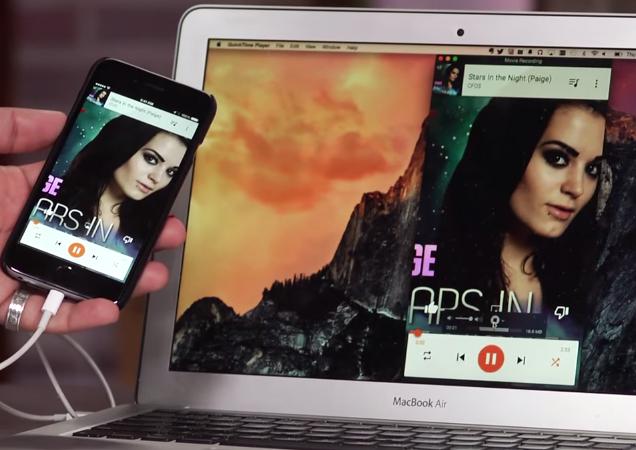 Record iPhone 6 Screen Mac Free