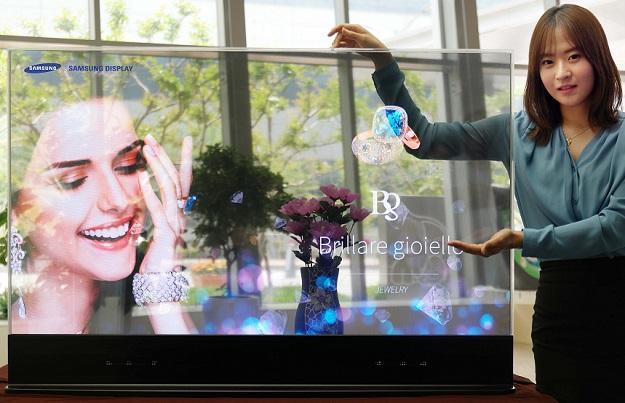 Samsung 55 Inch OLED Mirror Transparent