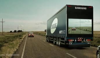 Samsung See Through Truck