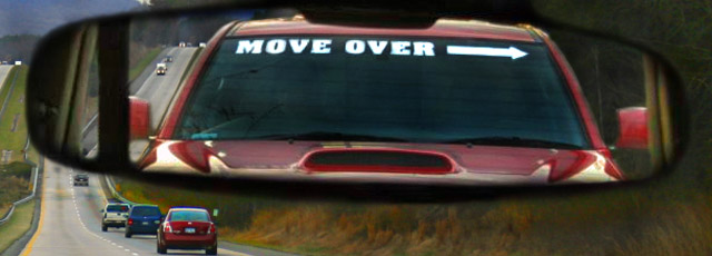 Slow Left Lane Driving Fines