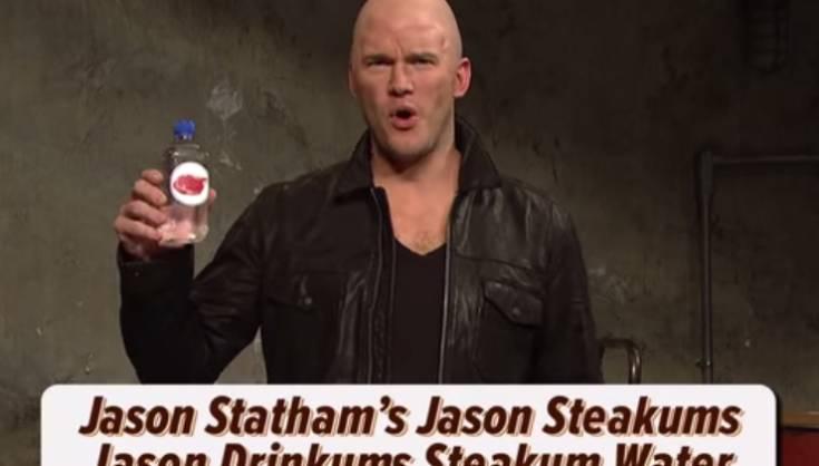 SNL Chris Pratt's Jason Statham Impersonation