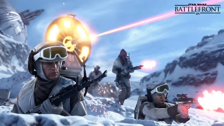 Star Wars Battlefront PS4 Beta