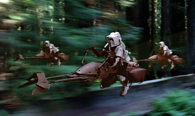 Army Star Wars Hoverbikes