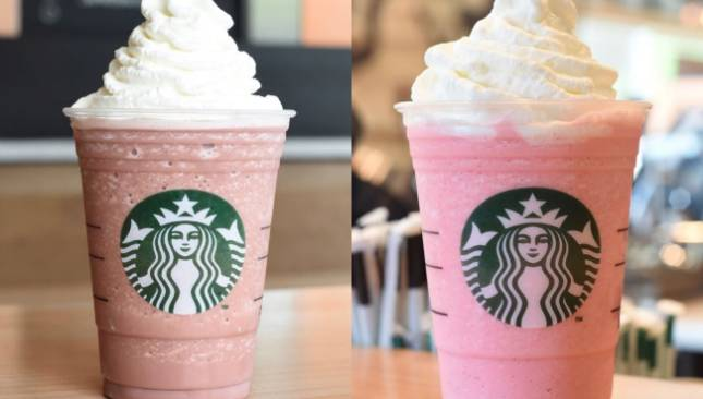Starbucks New Frappucino Cotton Candy