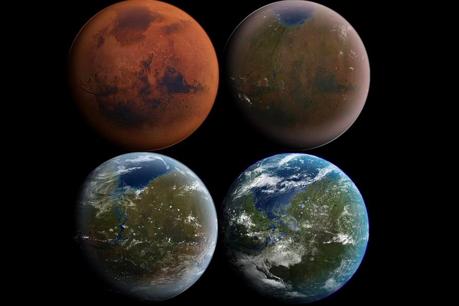 Mars DARPA Terraforming Project