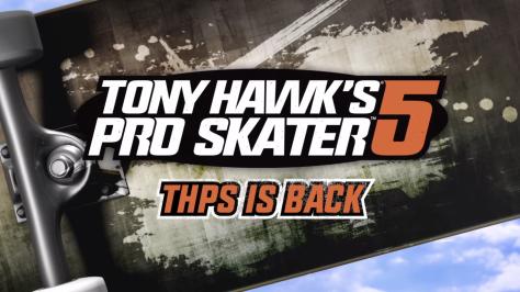 Tony Hawk's Pro Skater 5 Trailer