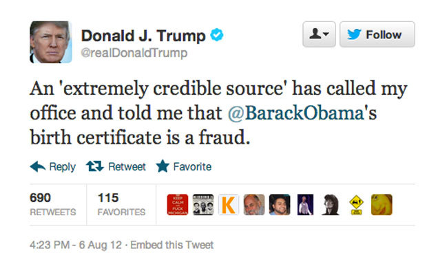 what donald trumps retweets reveal