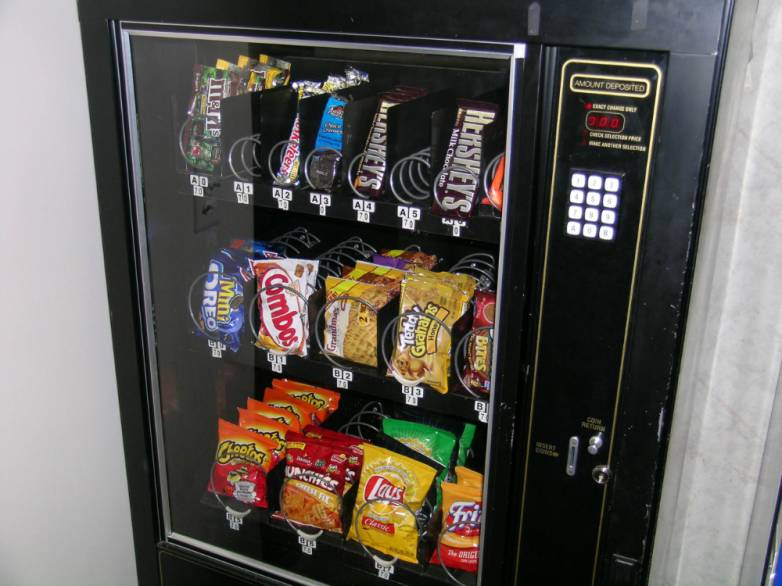 Lifehack Prevent Vending Machine Money Drop
