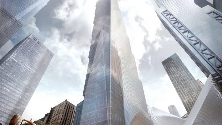 World Trade Center New York Final Tower Design