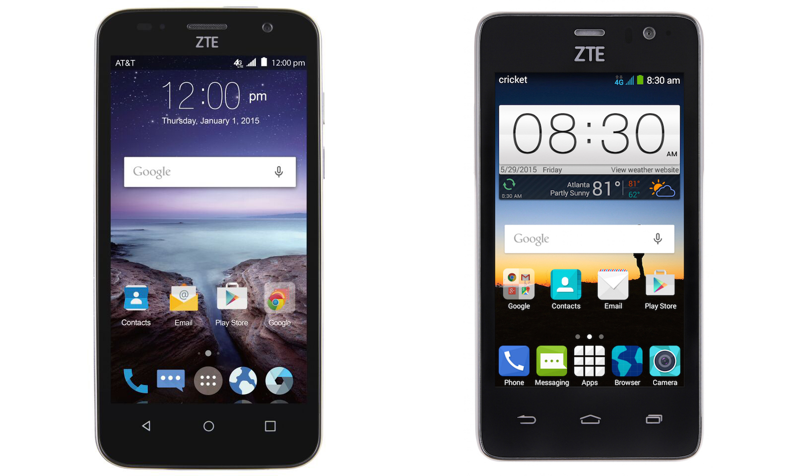 detailed zte maven 2 cost phone also features