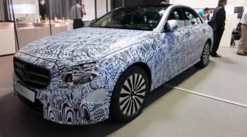 2017 Mercedes-Benz E-Class Tech Features