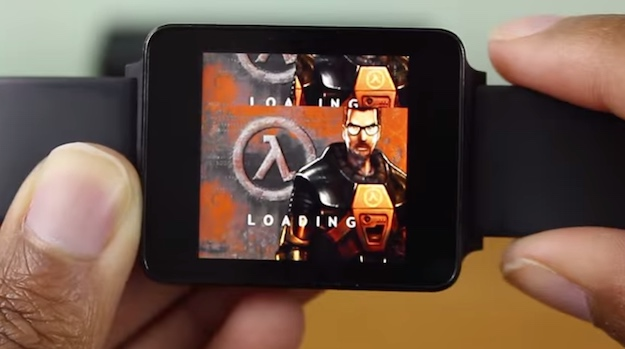 Android Wear Half Life