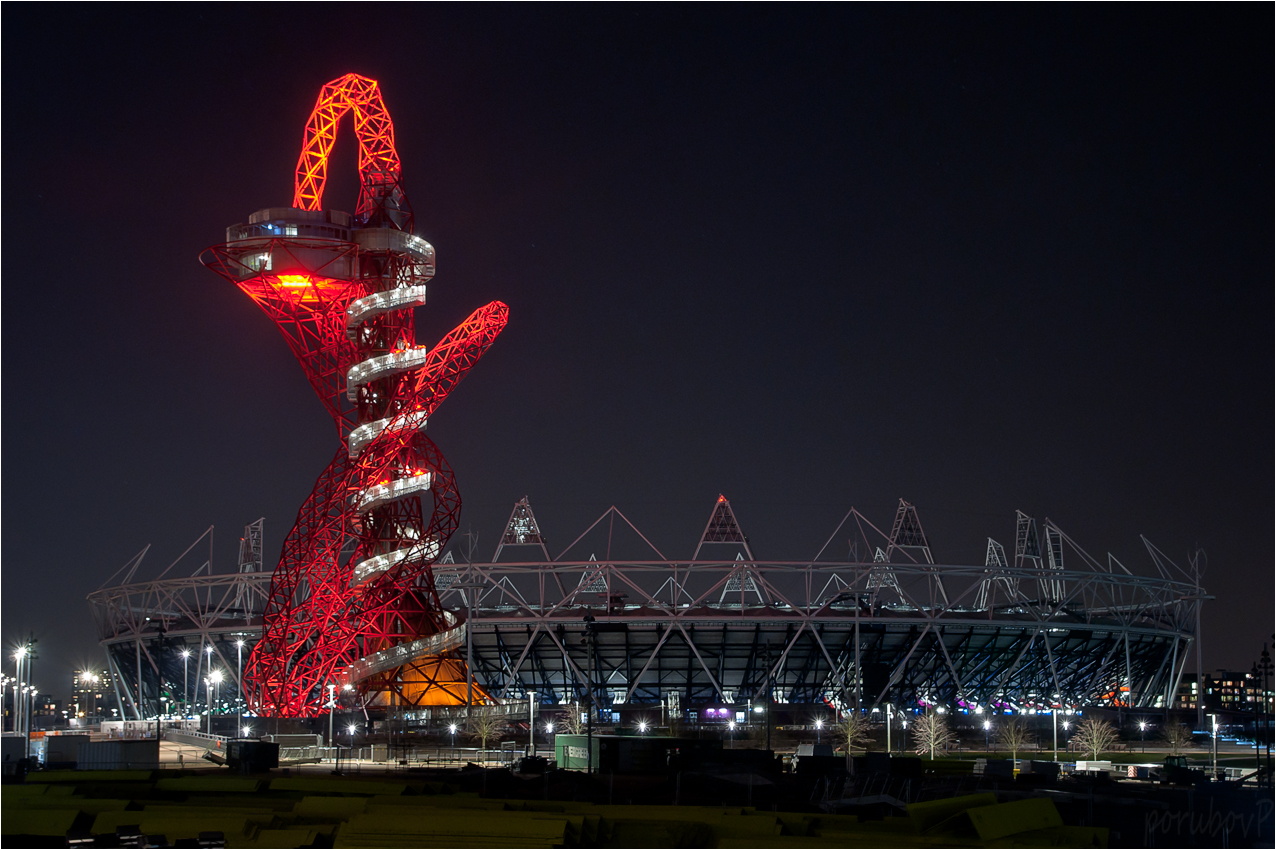 London ArcelorMittal Orbit Tower Slide