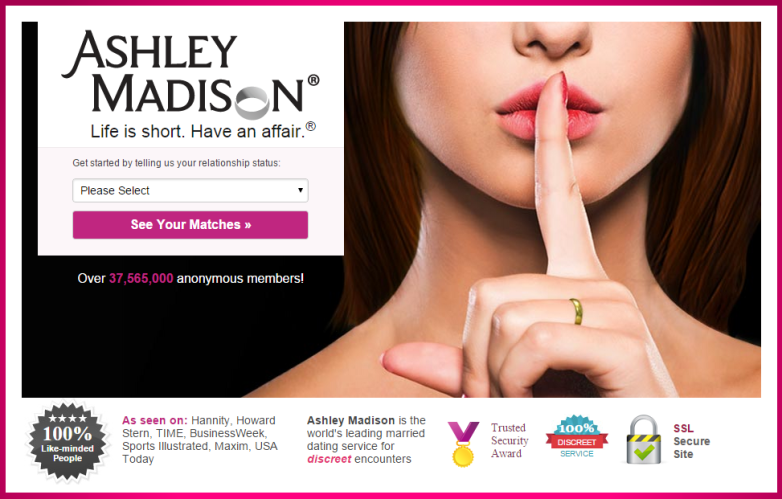 Ashley Madison Hack User Data Posted