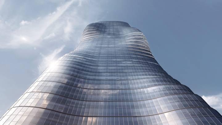 Beyoncé Ghost Skyscraper Melbourne Australia