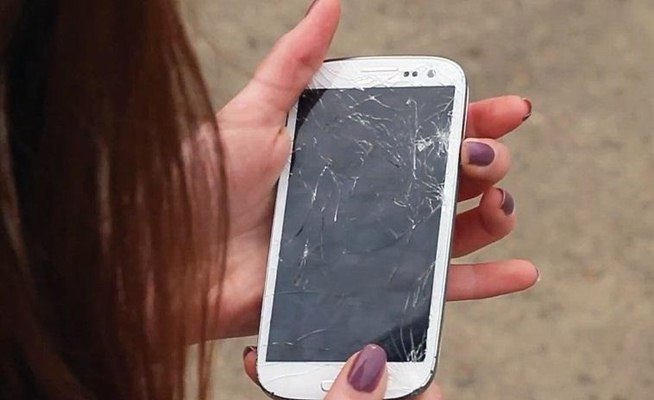 Self-Healing iPhone Android Display